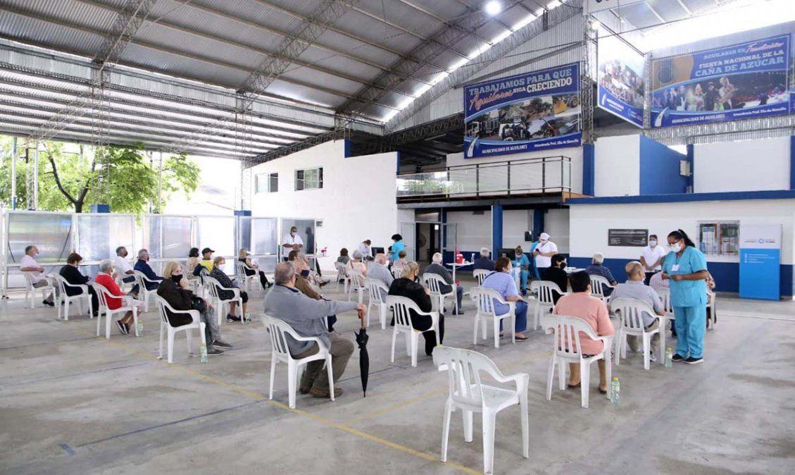 Reprogramaron turnos de vacunación en el interior de Tucumán