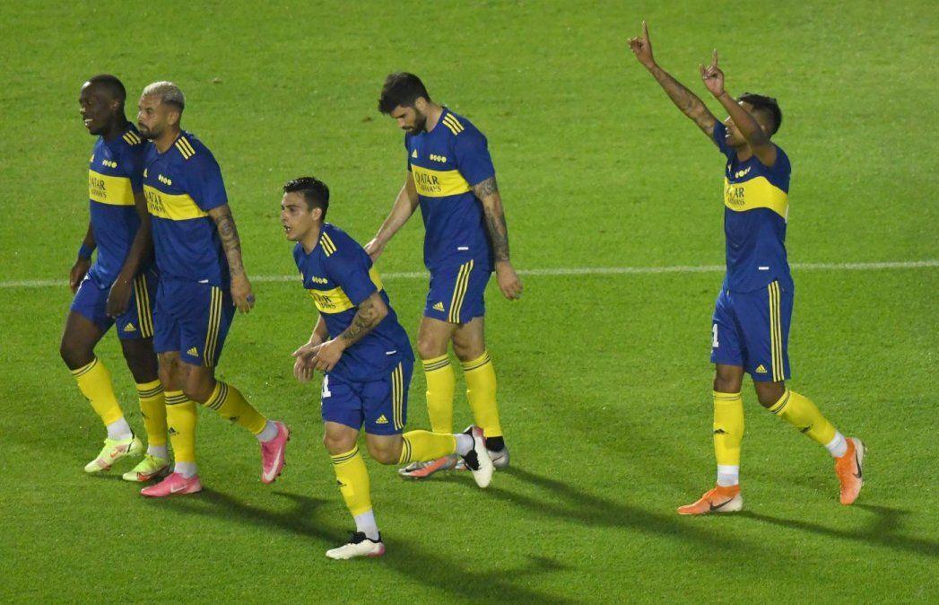 Boca festejó en el Monumental ante Atlético: ganó 2 a 1