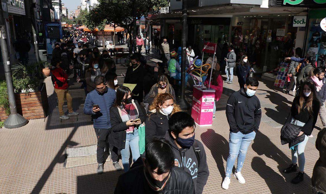 En Tucumán ya hay más de 180 mil contagios. Foto MSPT