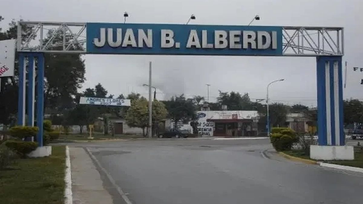 En Alberdi la lluvia fue leve y no causó anegaciones