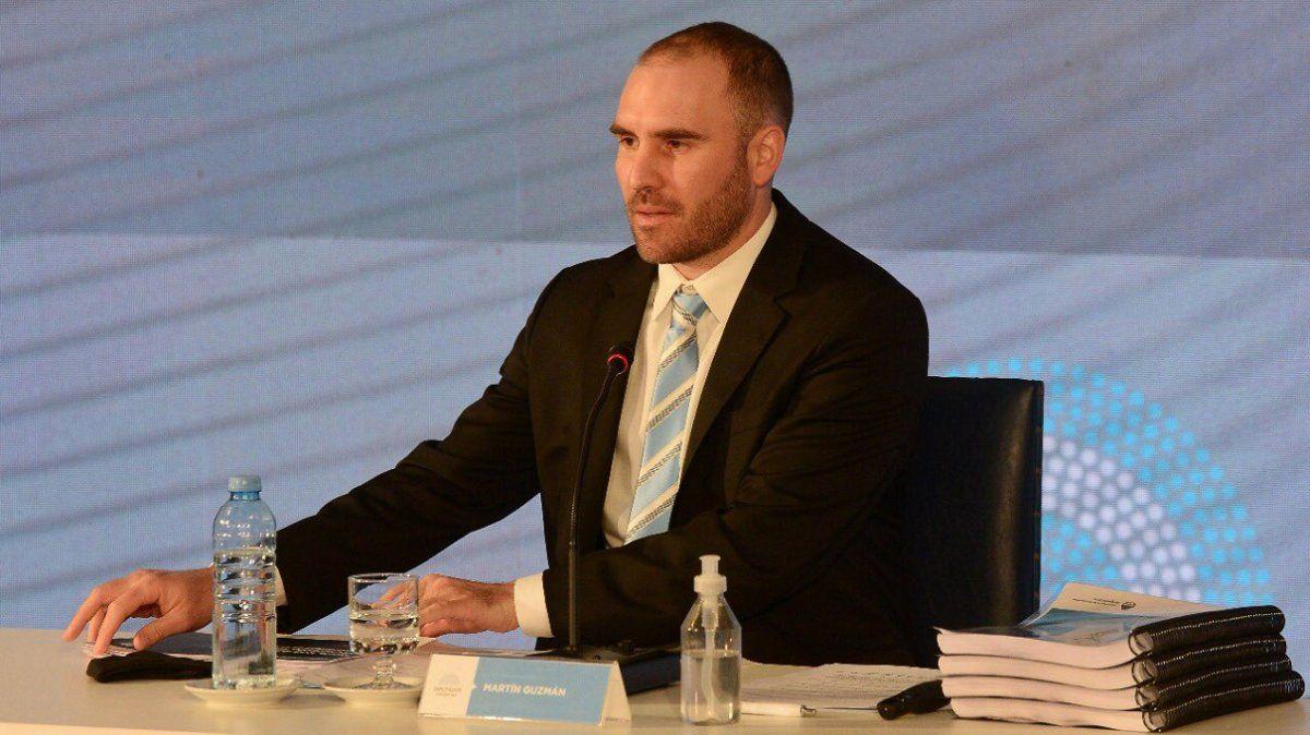 Martín Guzmán presentó el Presupuesto 2021 ante Diputados