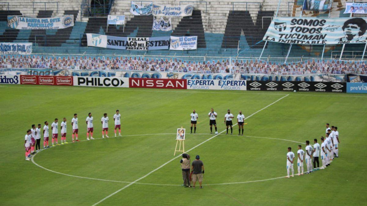 Las emociones por Diego se mudaron a Tucumán