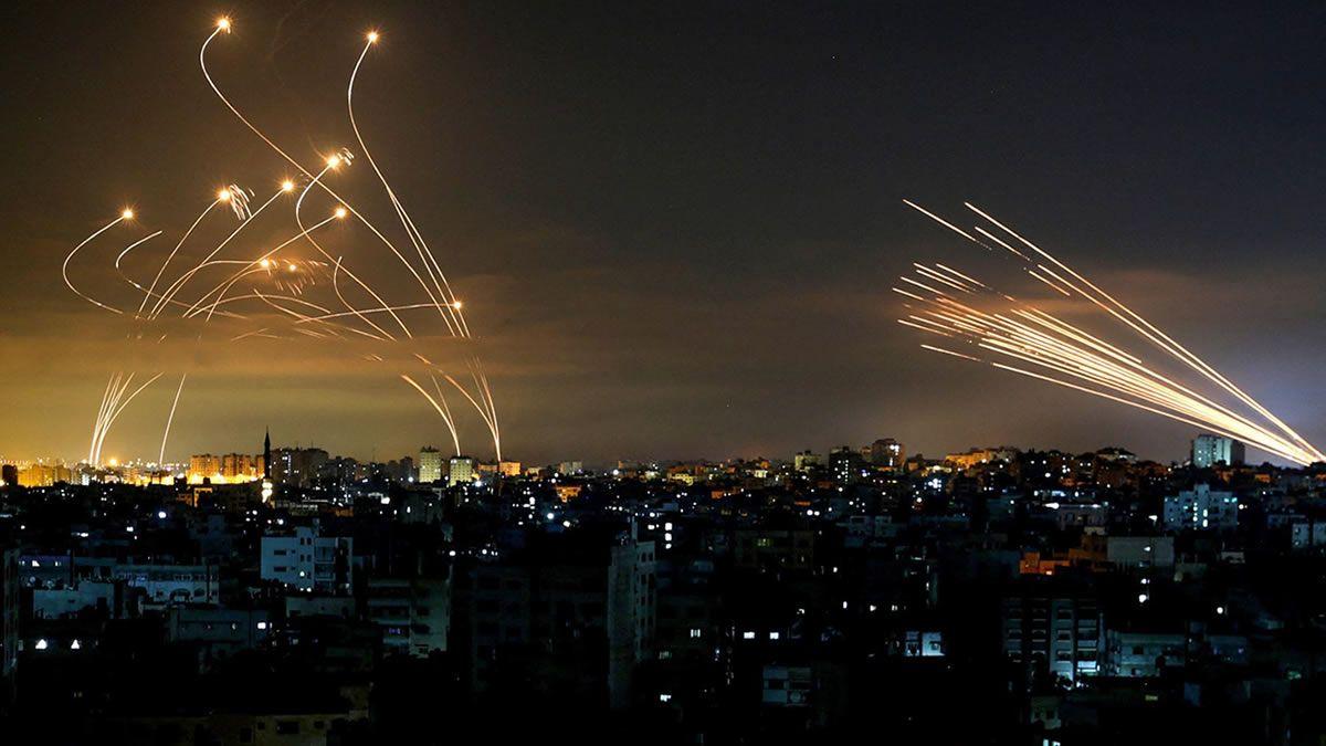 Hamás lanzó más cohetes desde Gaza hacia el centro y sur de Israel