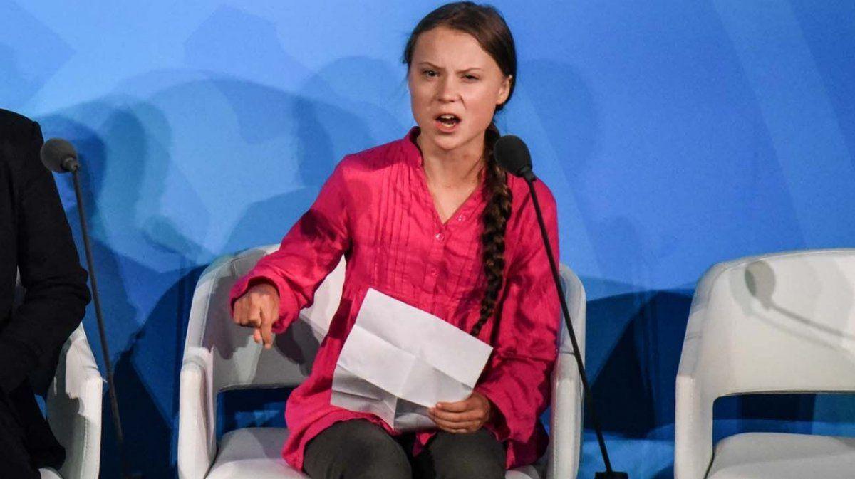 La revista Time eligió a Greta Thunberg como la persona del año