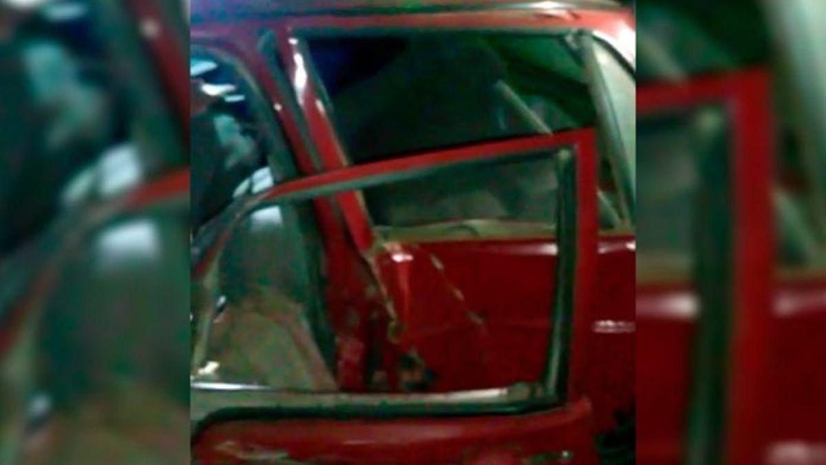 Víctima fatal en triple choque sobre la traza vieja de ruta 38