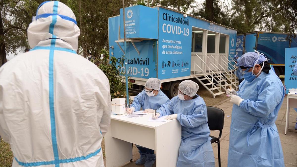 Covid-19 en Tucumán: se suman 24 muertes y 844 casos
