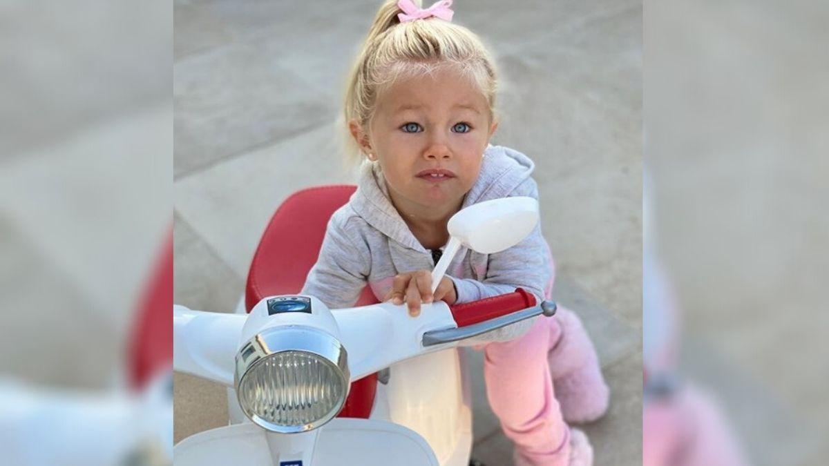 Luli Salazar le regaló a su hija un juguete de 40 mil pesos