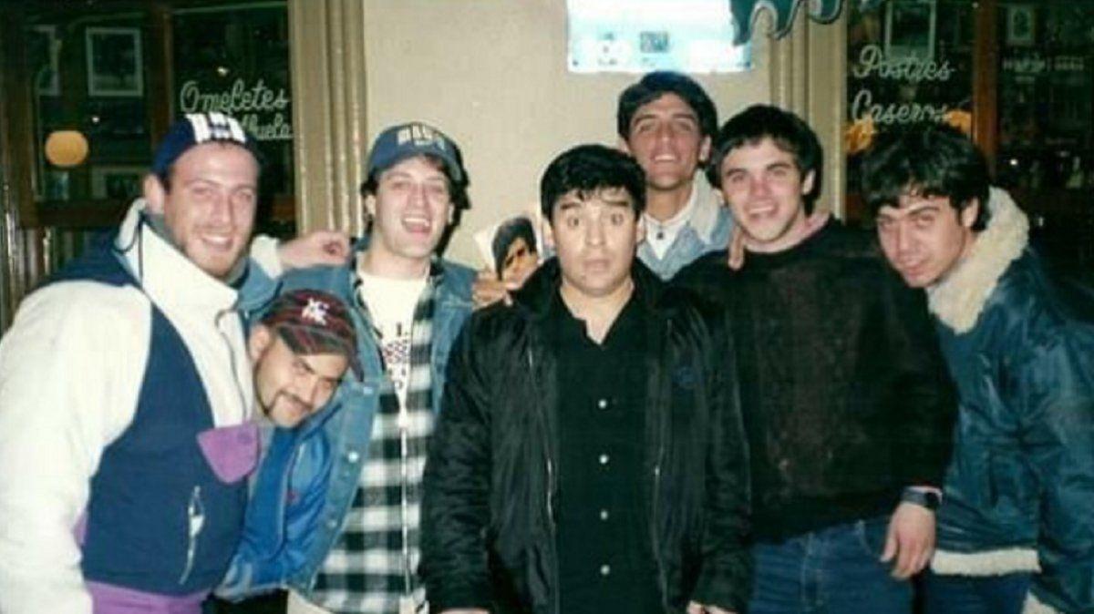 Diego y una foto por cada día que fue Maradona