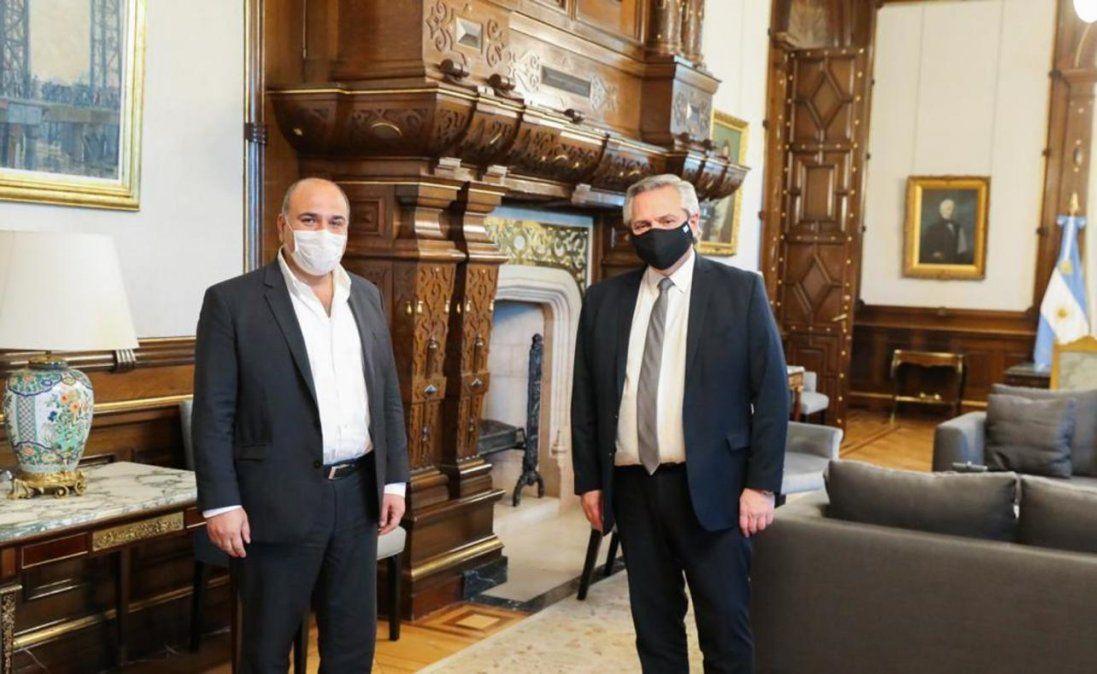 Manzur se reunió con Fernández: hablaron de obras y del virus