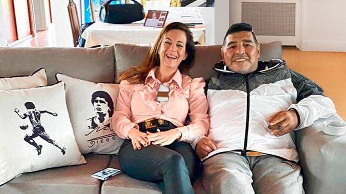 Jazmín Garbini, la mujer que Diego Maradona quiso conquistar