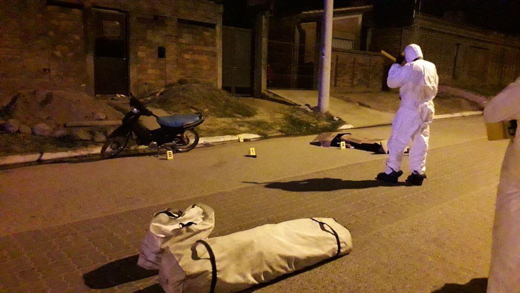 Homicidio en El Colmenar: Se entregó el presunto autor del crimen