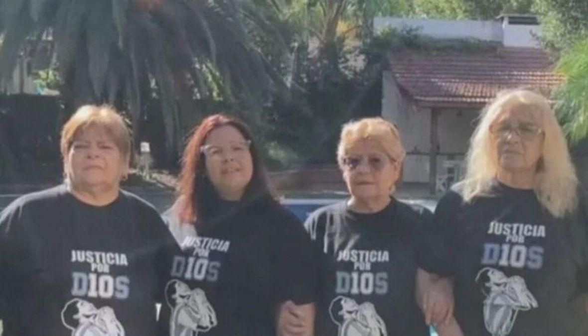 Las hermanas de Diego Maradona se refirieron a su muerte