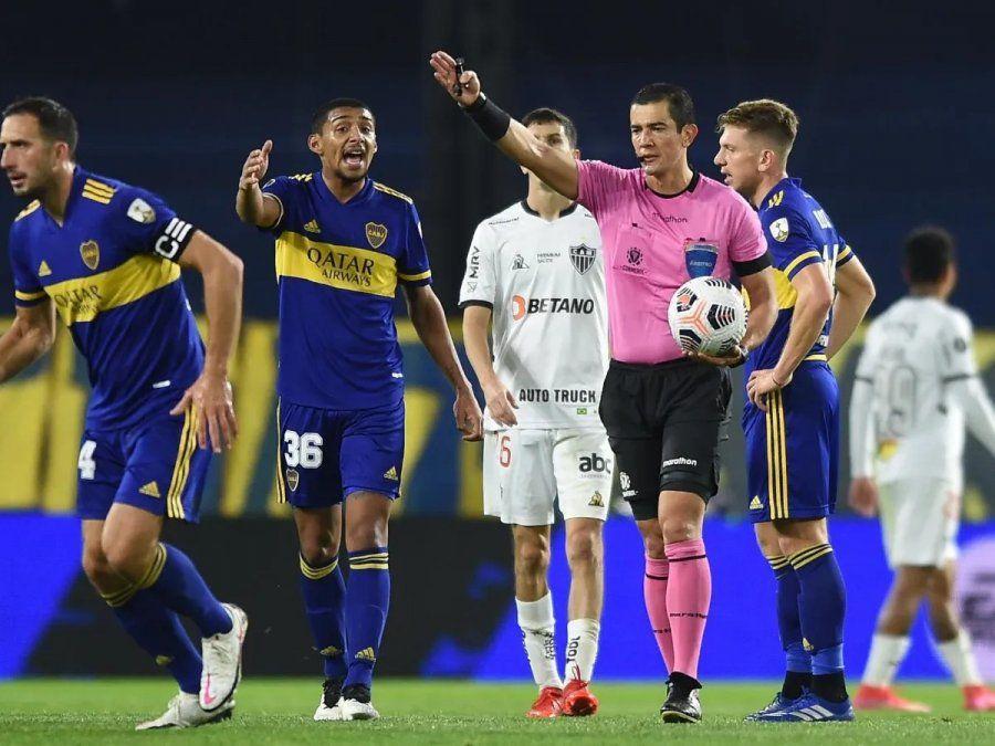 Esteban Ostojich será el árbitro del partido entre Boca y Atlético Mineiro.