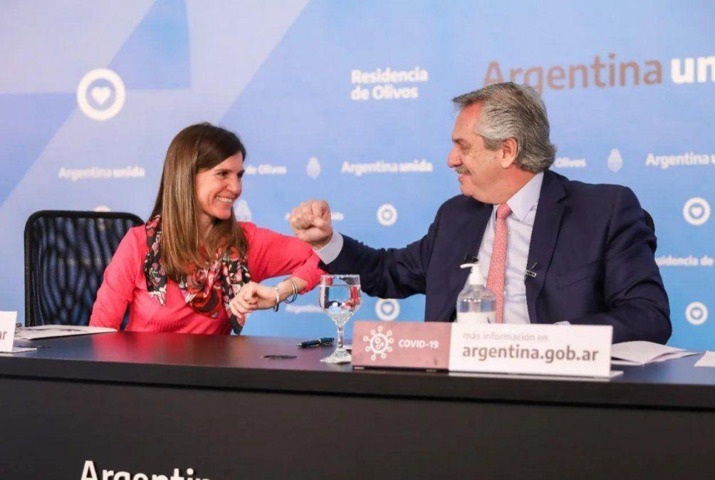 Fernández anunció la inclusión de cerca de un millón de niños a la AUH