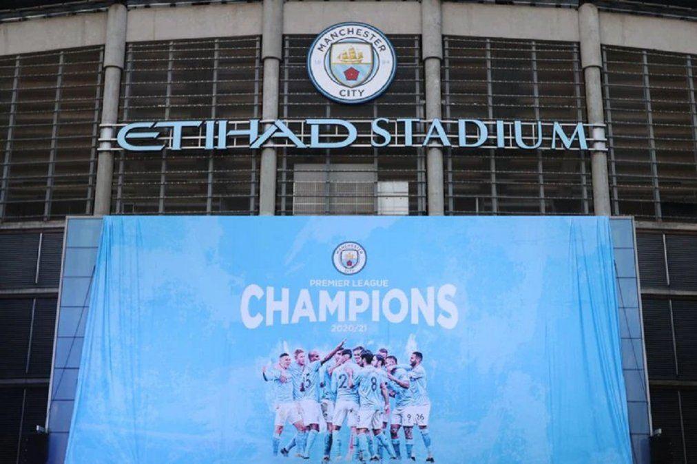 Manchester City es el campeón de la Premier League