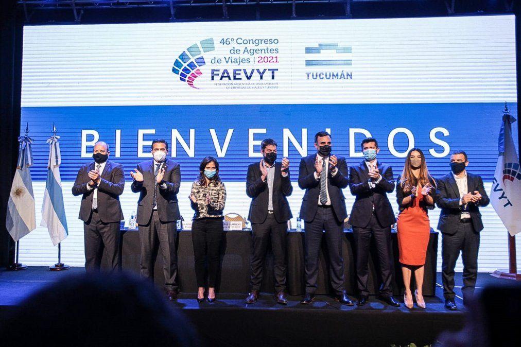 Lanzaron oficialmente el 46° Congreso Nacional de Agentes de Viajes. Foto: tucumanturismo.gob.ar
