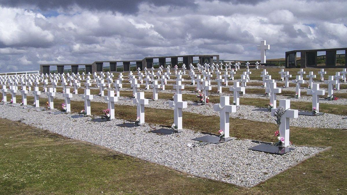 Identifican los restos de seis soldados argentinos en Malvinas