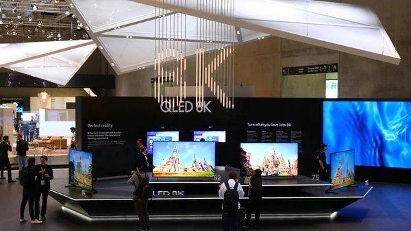 Samsung presentó el primer televisor con calidad 8K: tiene 33 millones de píxeles