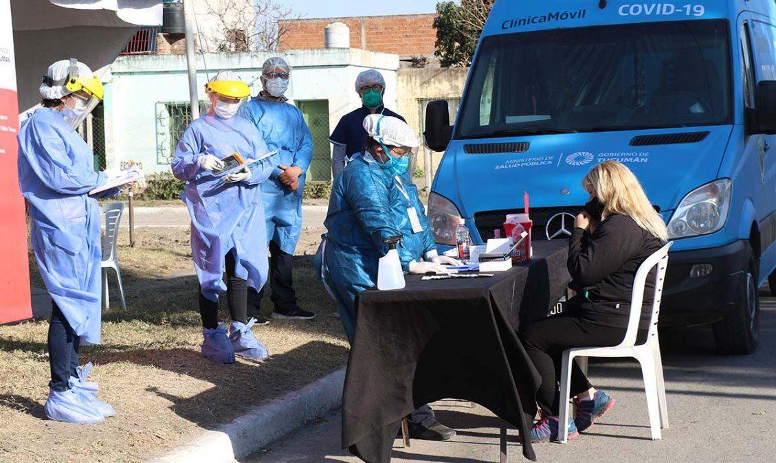 Coronavirus: hubo 899 casos en 24 horas en Tucumán