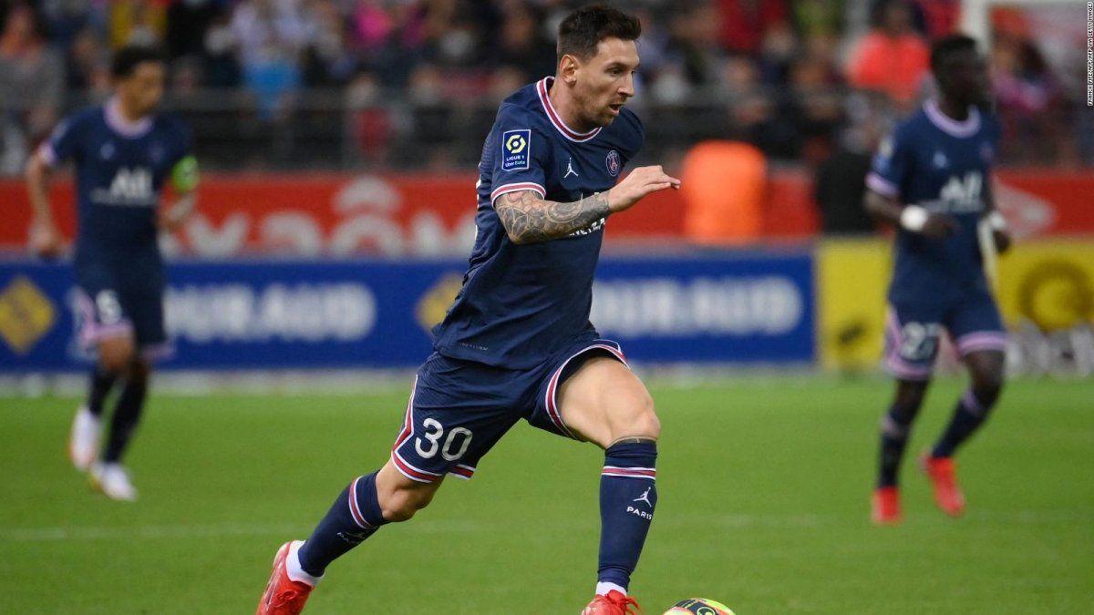 Messi arranca su camino en la Liga de Campeones con el PSG