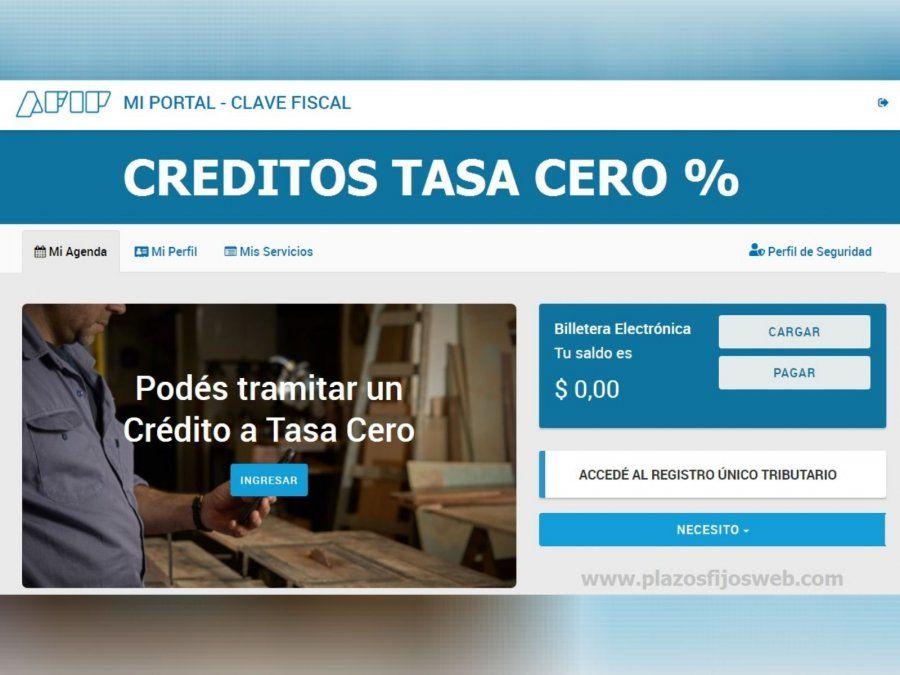 Extienden créditos a tasa 0 para monotributistas y autónomos