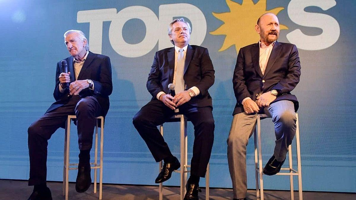 CGT y gobernadores buscan que Alberto presida el PJ
