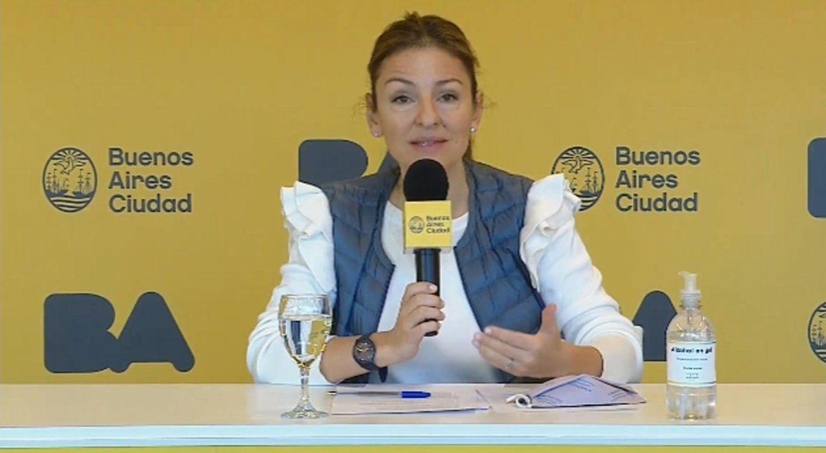 Soledad Acuña insiste en denunciar militancia en las aulas