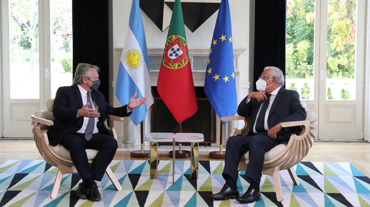 De Portugal a España: Fernández finalizó su primera escala