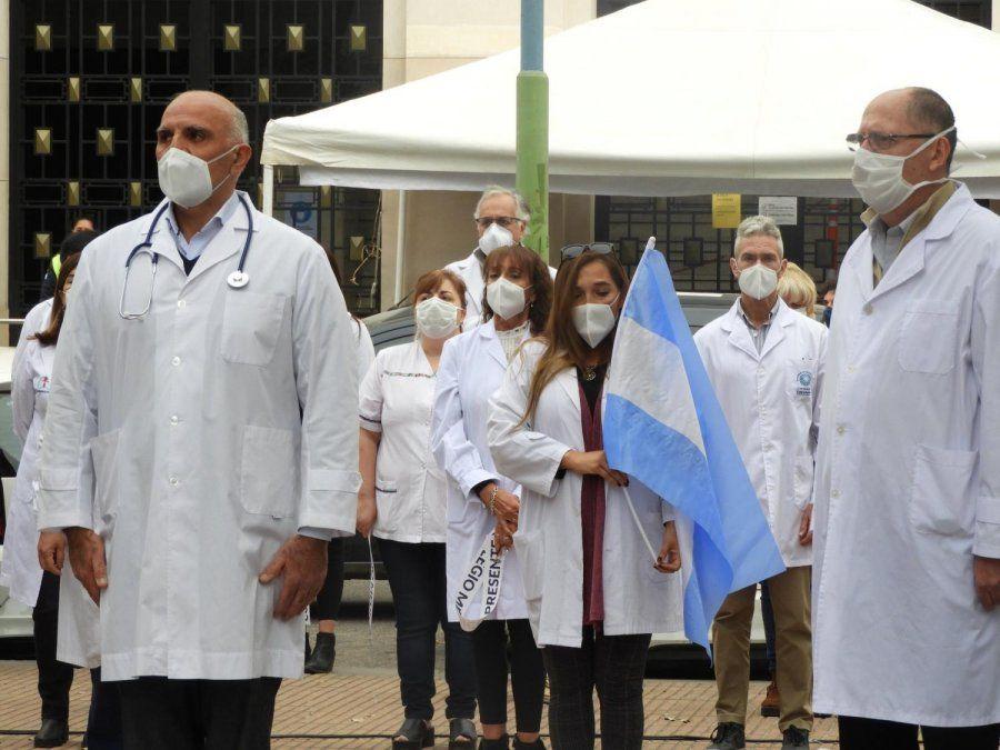 Rendirán homenaje a los médicos que perdieron la vida por el Covid