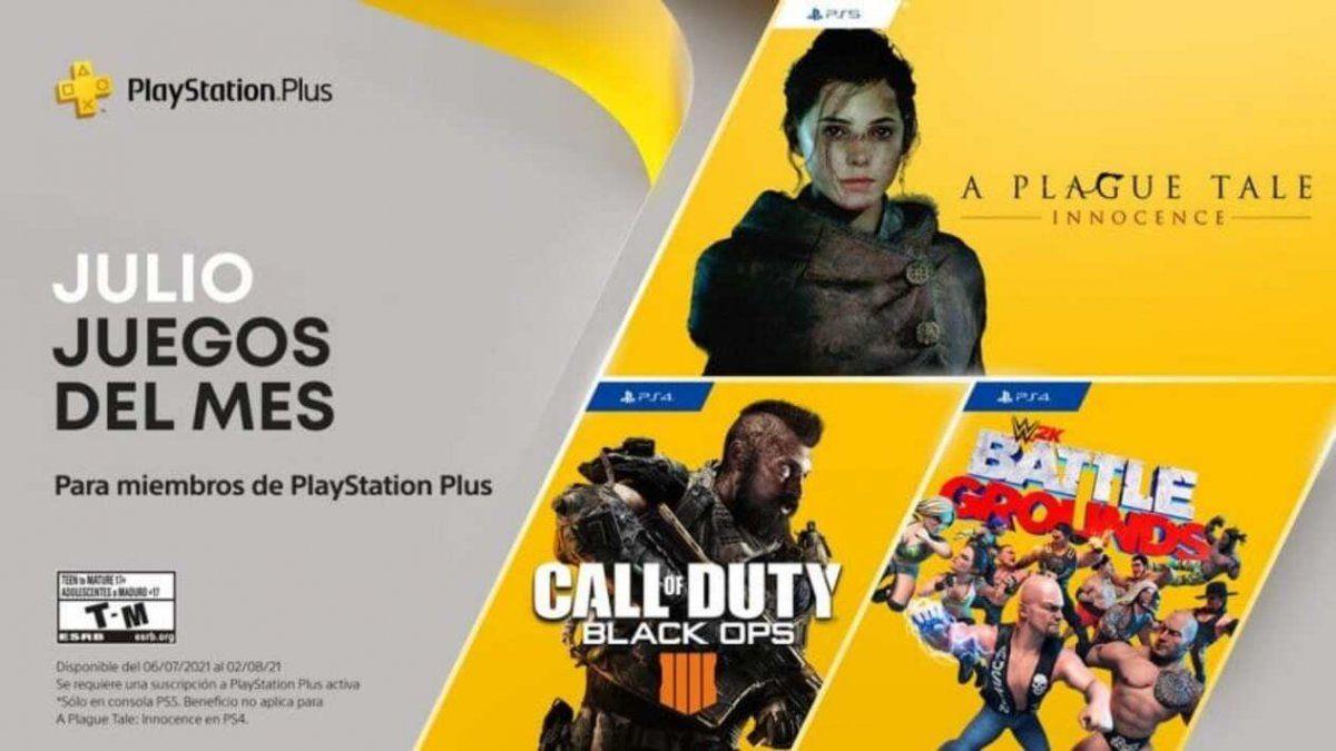PlayStation ya tiene confirmado los juegos gratis de julio