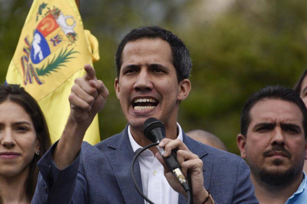 Juan Guaidó denunció que intentaron asesinarlo