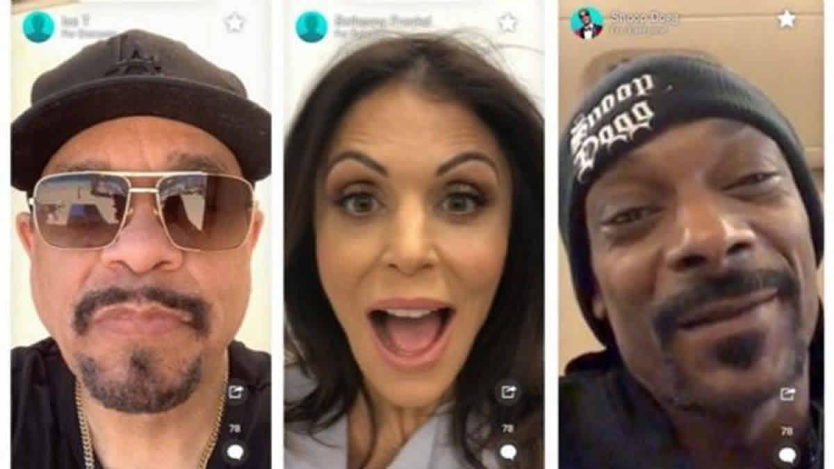 La app de los saluditos de famosos agregará videollamadas
