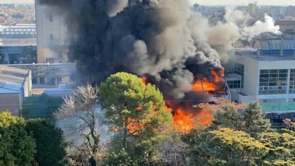 Se incendió la planta principal de la cervecería Quilmes