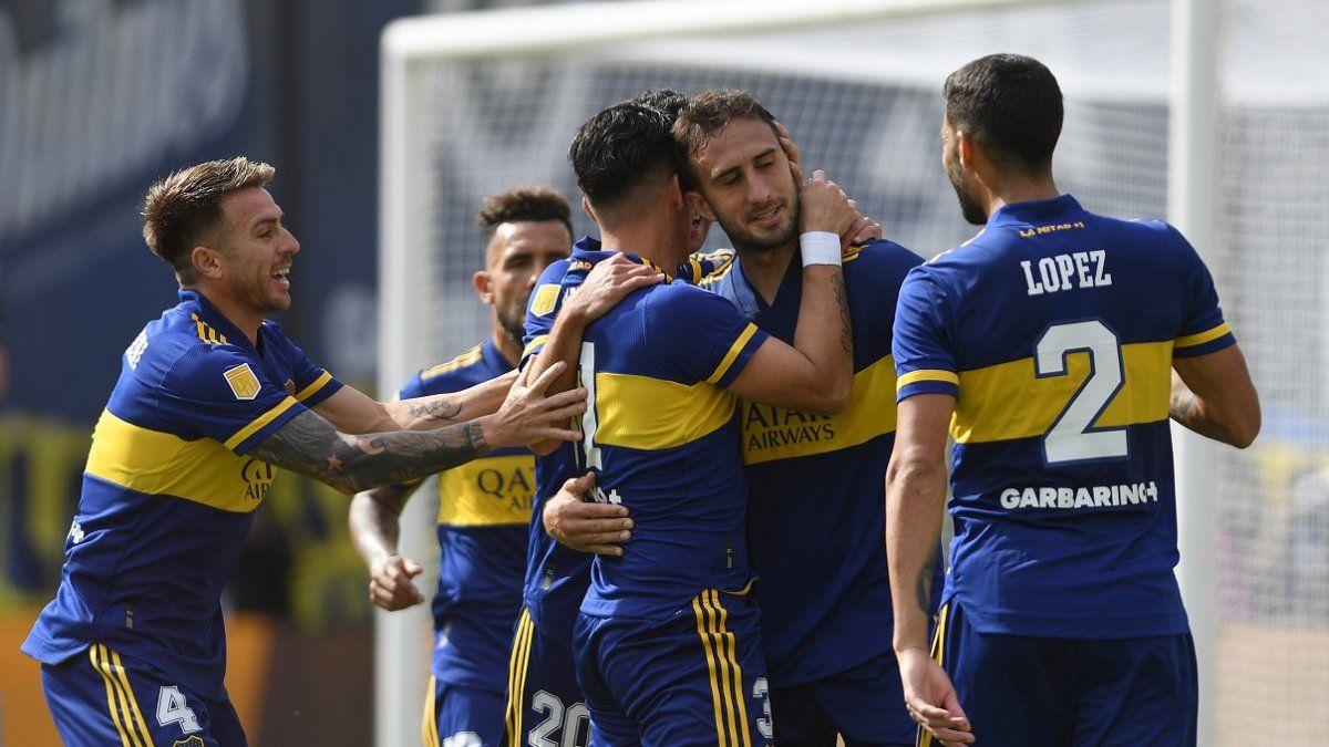 Boca le ganó a Lanús y clasificó a Cuartos de Final