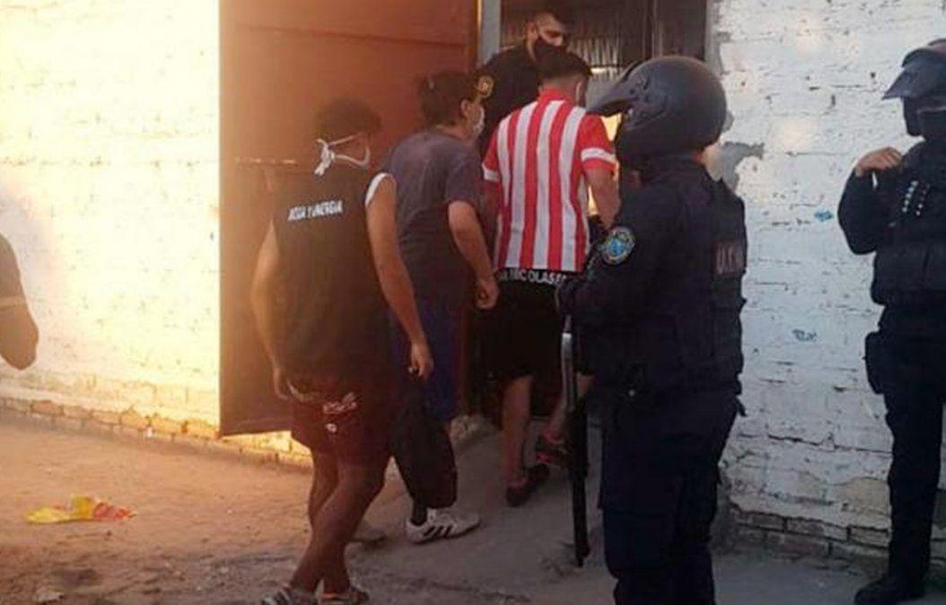Santiago del Estero: detuvieron a 17 personas en un partido