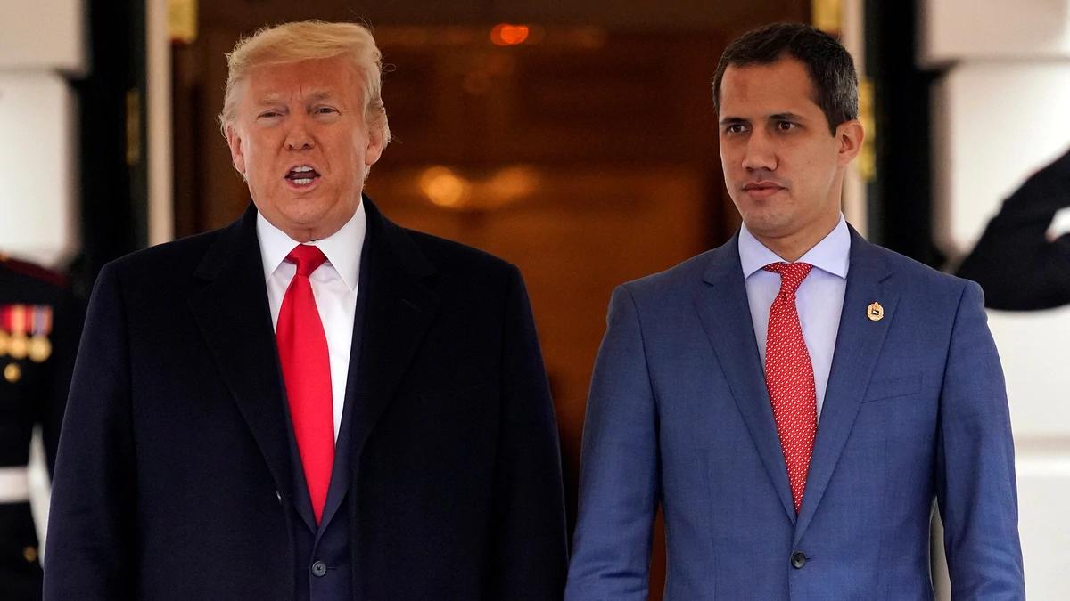 Guaidó calificó de muy productiva la reunión con Trump