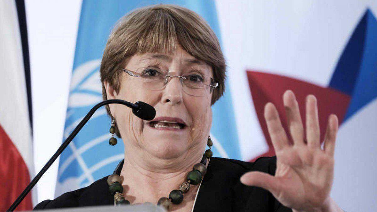 Michelle Bachelet denunció la situación en los centros penitenciarios.