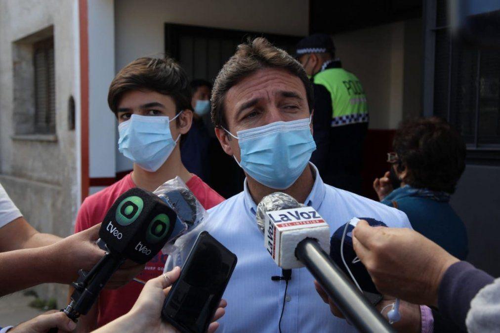 Para Roberto Sánchez las PASO 2021 son un momento histórico. Créditos de la foto: Horacio Arias.
