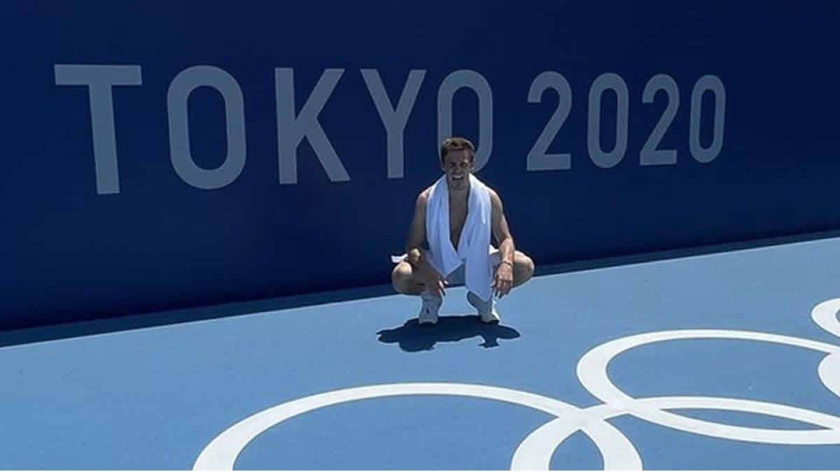 Juegos Olímpicos: Schwartzman debuta ante Juan Pablo Varillas
