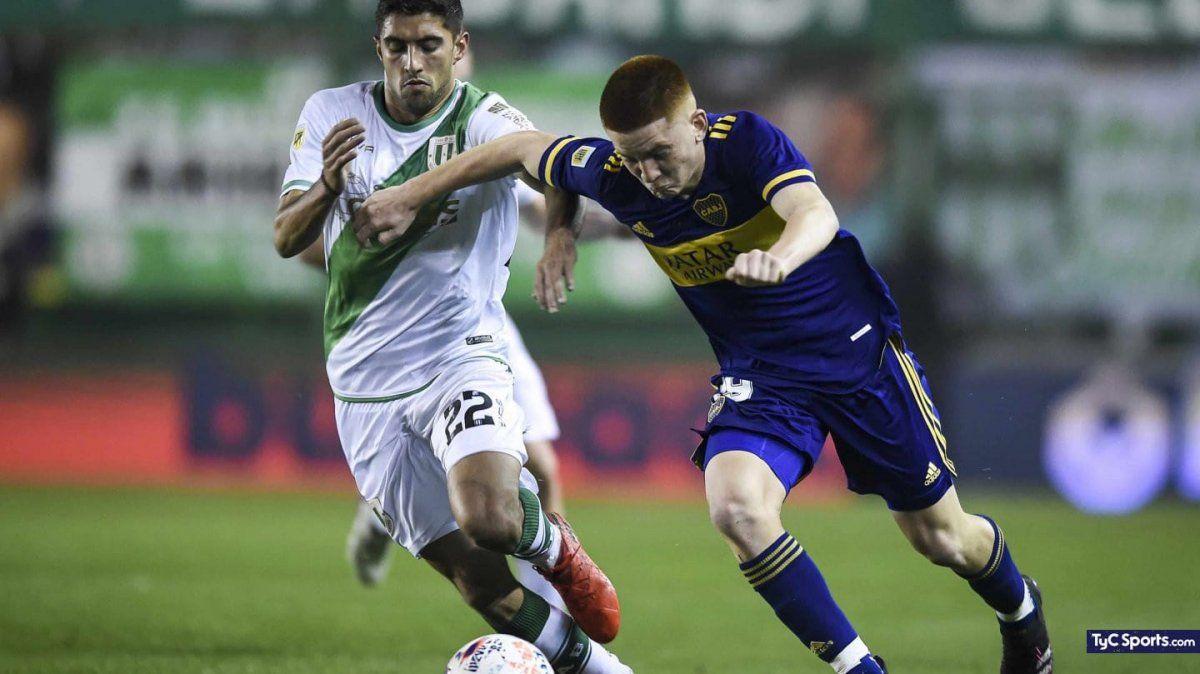 Boca jugó con juveniles y de visitante empató contra Banfield. Foto: tycsports.com