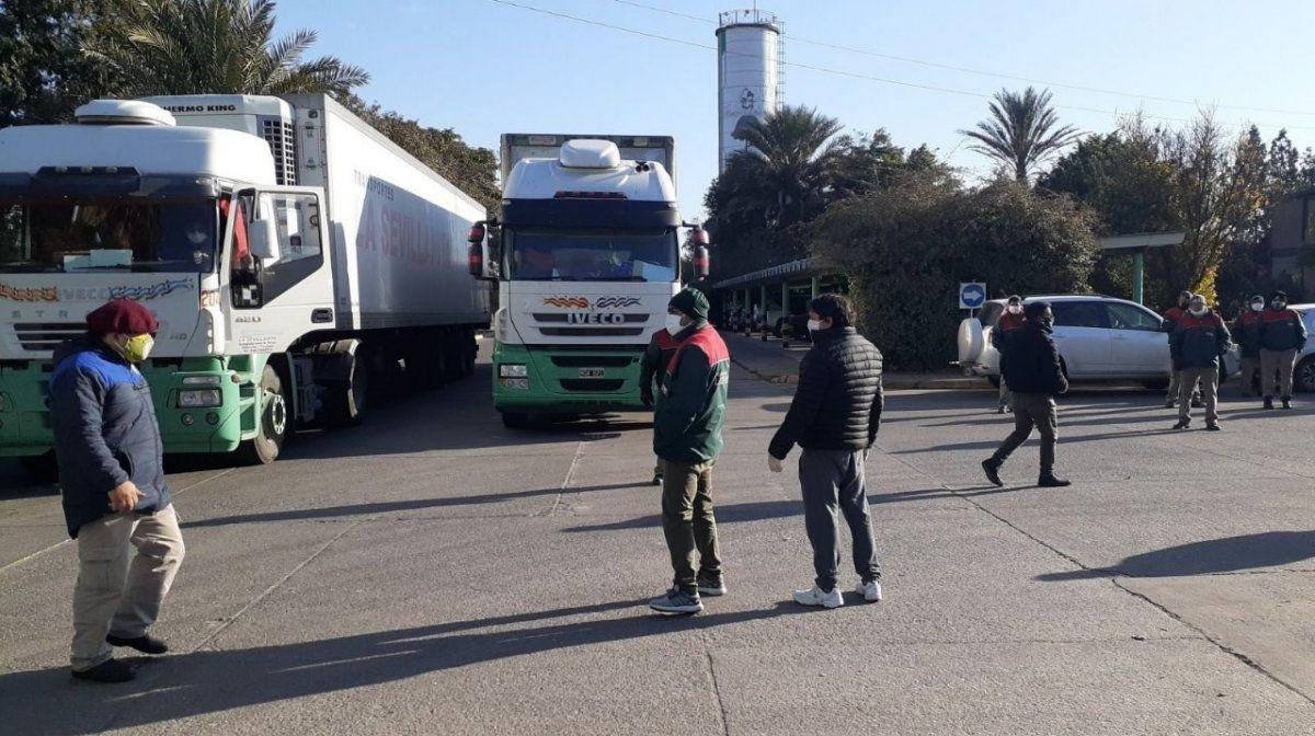 Empresa de cargas aguarda los hisopados a sus empleados