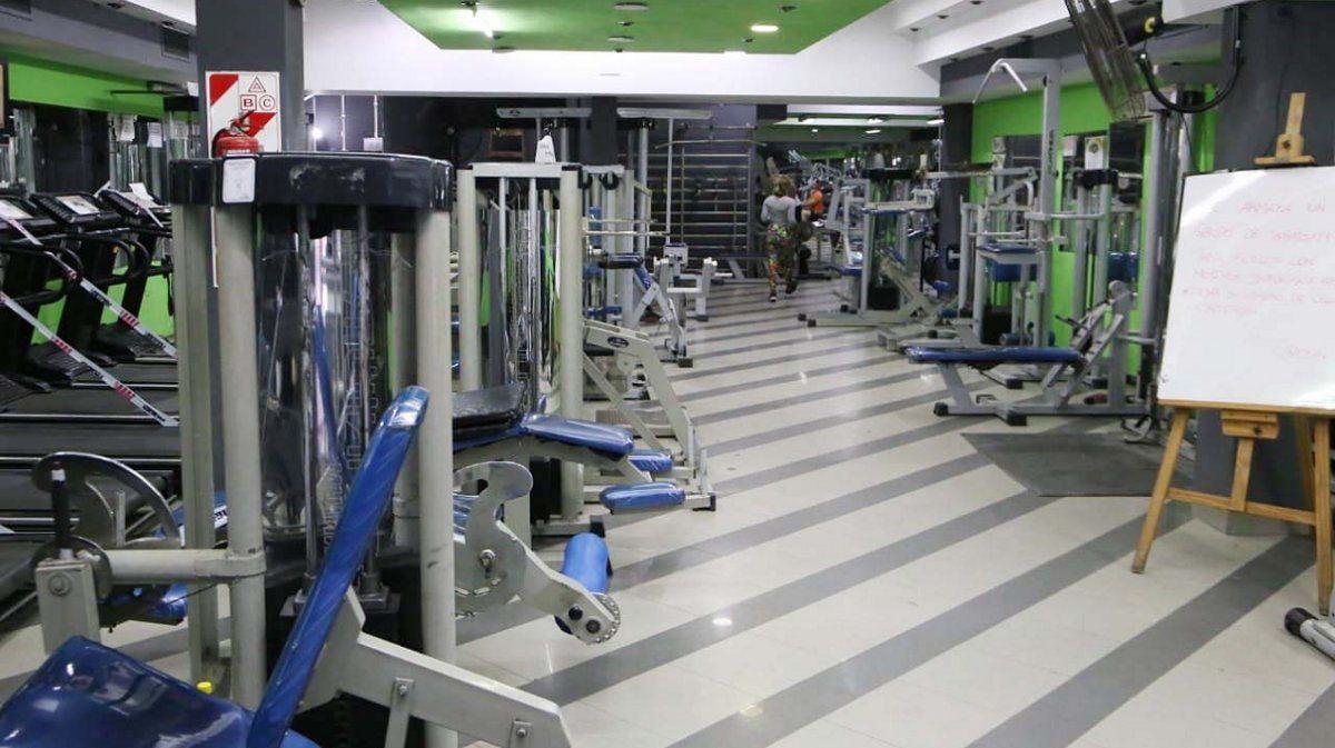 Testeos en gimnasios a través del programa Buscarte