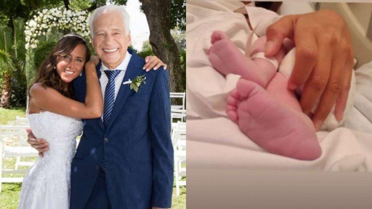 Alberto Cormillot fue papá a los 83 años: nació Emilio