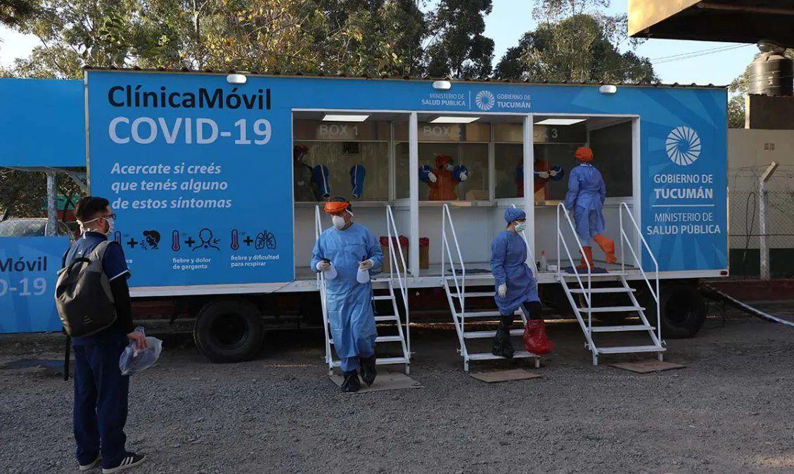 El Ministerio de Salud informó que Tucumán acumula 32.608 contagios de Covid-19.
