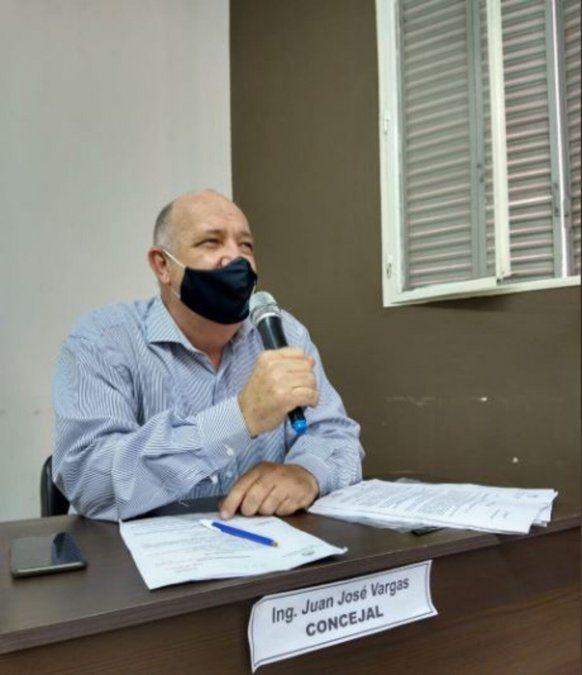 Falleció el concejal de Concepción Juan José Vargas