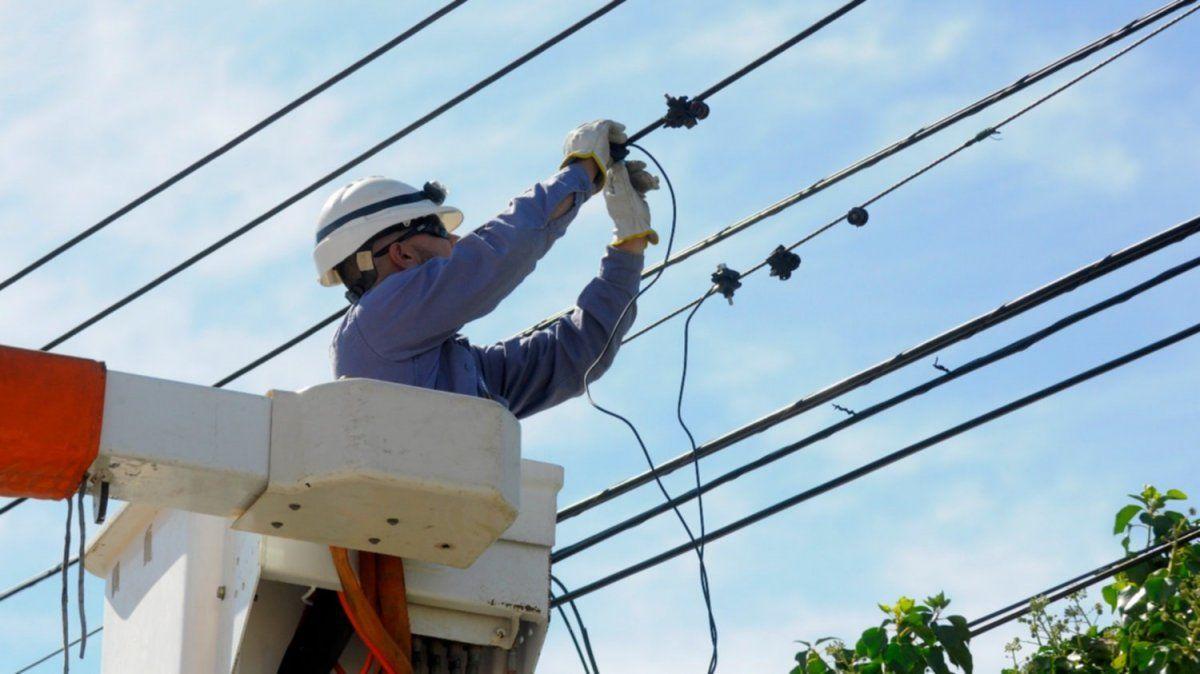 Tarifa eléctrica: rige el aumento del 9%, el único del año