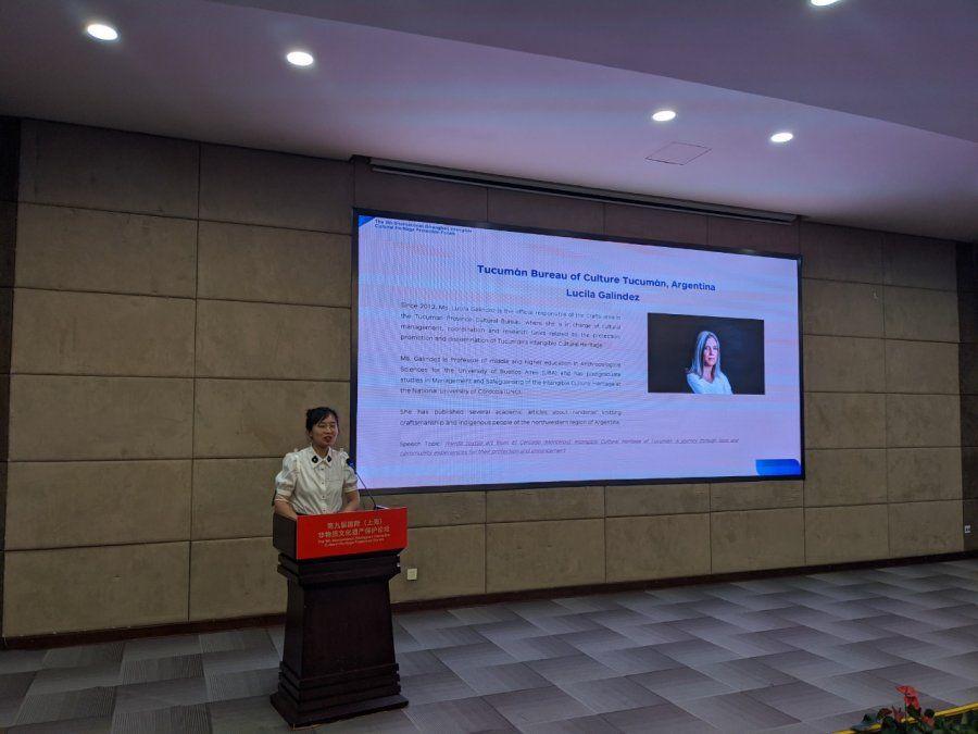 La randa tucumana estuvo presente en Shanghái