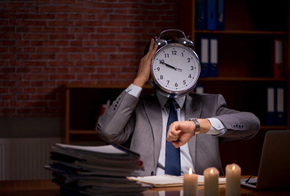 Menos horas de trabajo