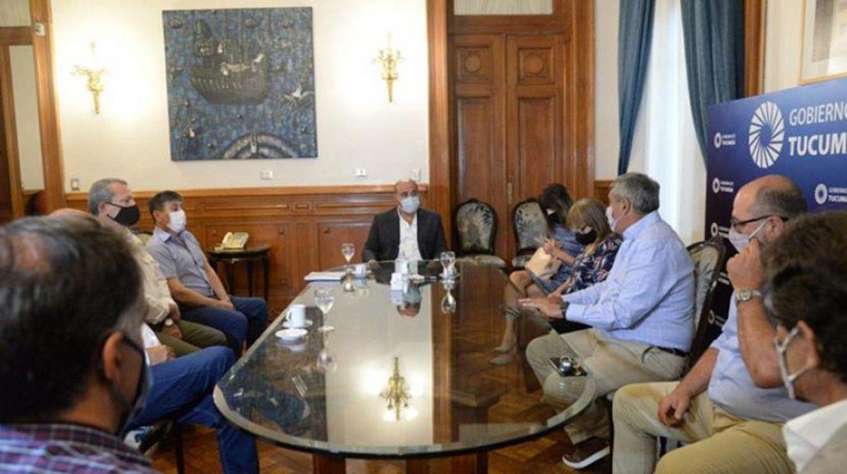 Manzur evaluó los avances en la ejecución de obras provinciales