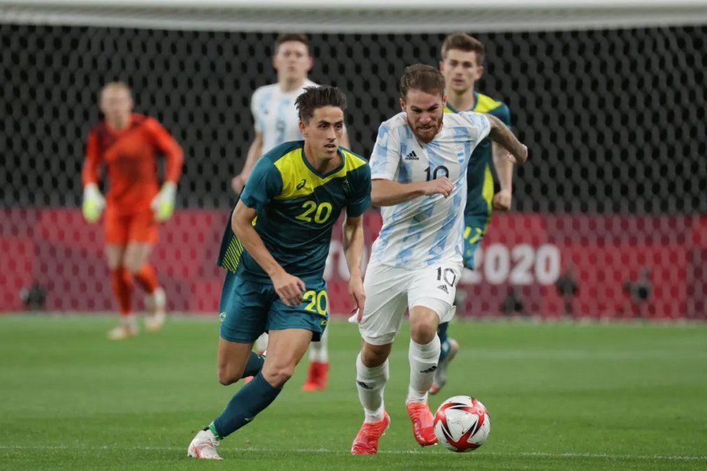 En su debut, la Selección sub 23 cayó 2 a 0 ante Australia